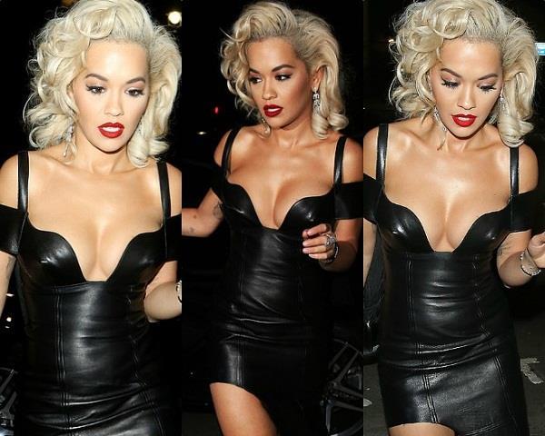 सेक्सी ड्रेस पहन इवेंट में पहुंची रीट अोरा, तस्वीरों में साफ दिखे हॉट क्लीवेज