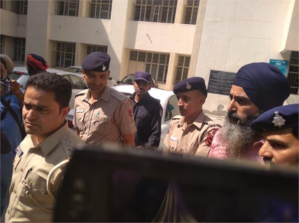 former cm beant singh s killer presented in jalandhar court