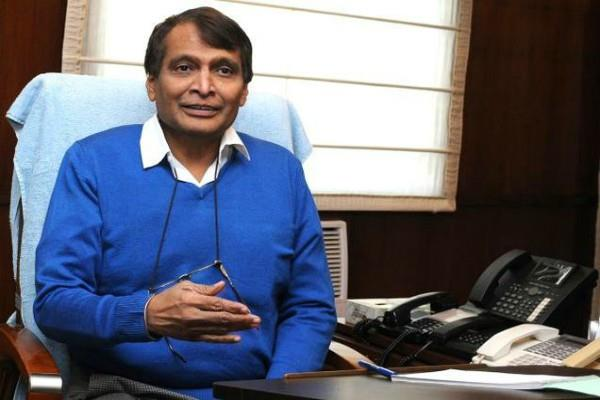 suresh prabhu will meet with various ministries for falling rupee