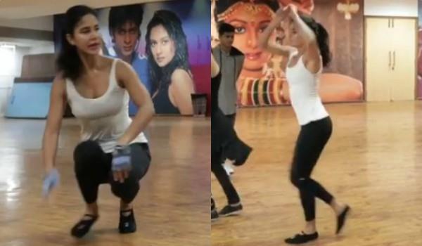 katrina kaif share dance video