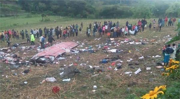 more than 40 dead in bus accident in kenya