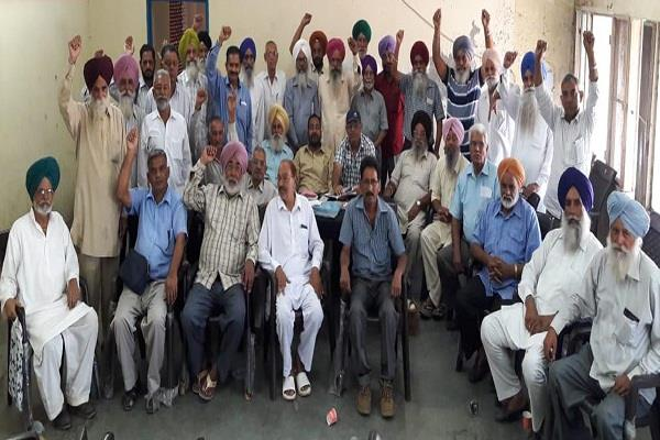 roadways to resolve the problem of pensioners soon sidhu