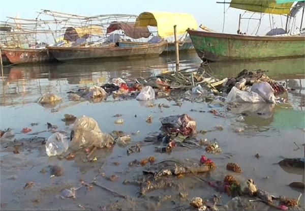 allahabad administration blamed sanitary campaign