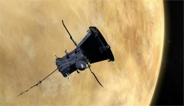 nasa parker solar probe flies by venus on way to sun