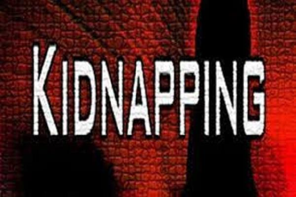 accusation of kidnapping woman