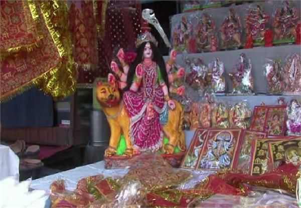 preparations of navaratri in the temples