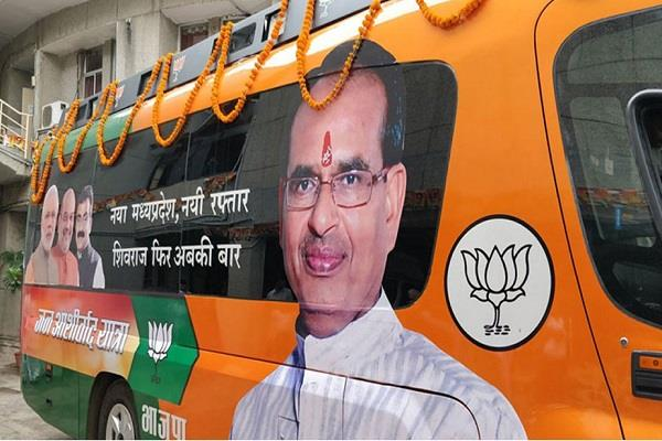 chief minister will get 24 yr yatra for three seats in gwalior