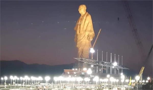 tallest statue of sardar patel
