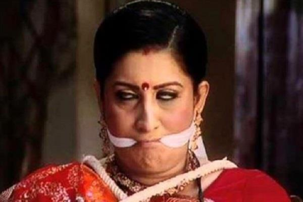 smriti irani shares her old picture
