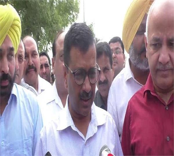 no coalition with political party in lok sabha elections kejriwal