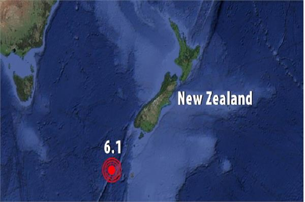 6 1 magnitude earthquake in new zealand