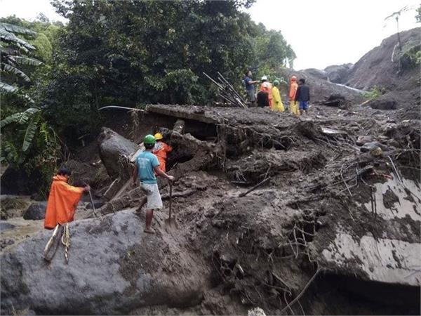 3 dead several missing in philippine landslide