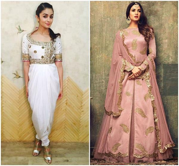 नवरात्रि स्पैशलः डांडिया फेस्टिव पर पहनें इंडो-वेस्टर्न ड्रेसेज