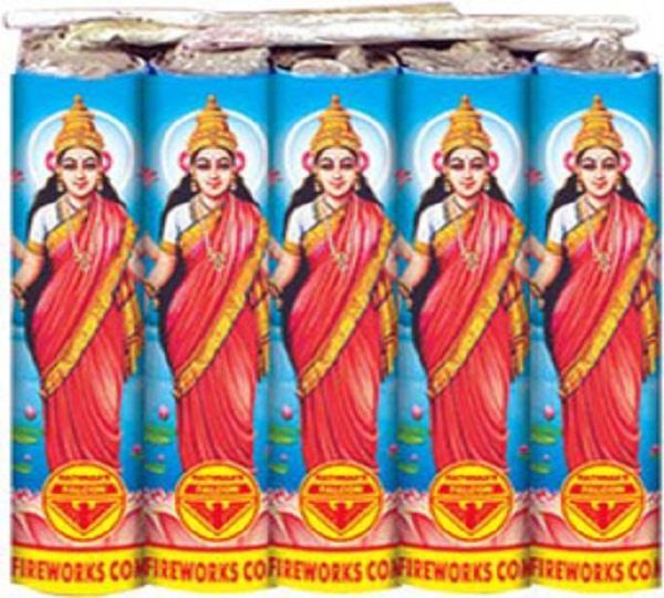 fireworks with photos of hindu goddesses