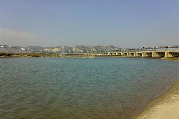 satluj beas river pollution