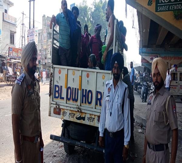traffic police khanna