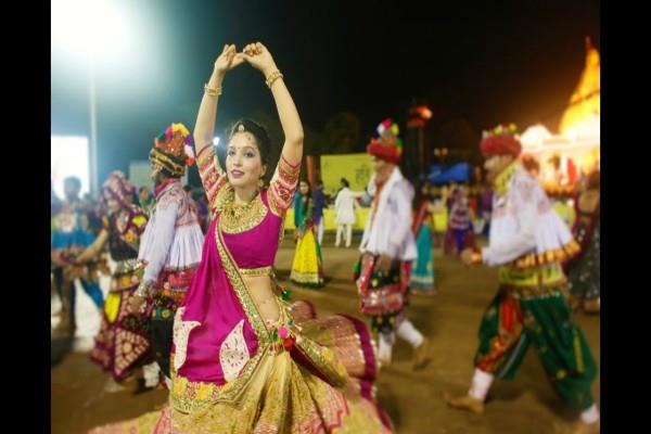 the enthusiasm about navratri in gujarat