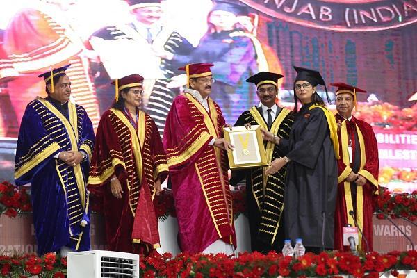 vice president calls on lovely university sat sri akal