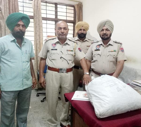 10 kg drugs recovered