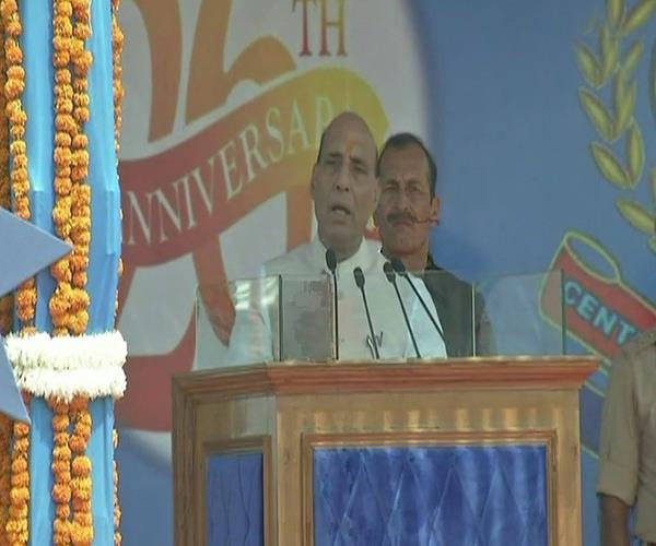 jammu and kashmir is an integral part of india rajnath singh
