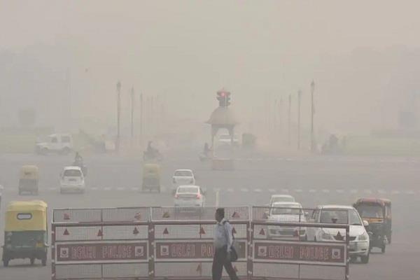 air quality in delhi was very bad