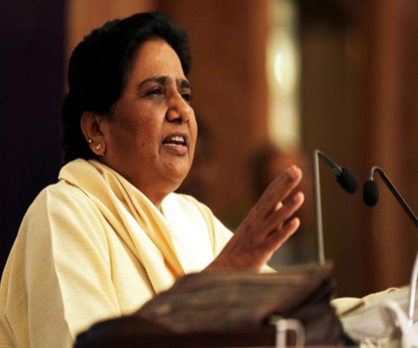 big blow to congress mayawati will not say bigalliance