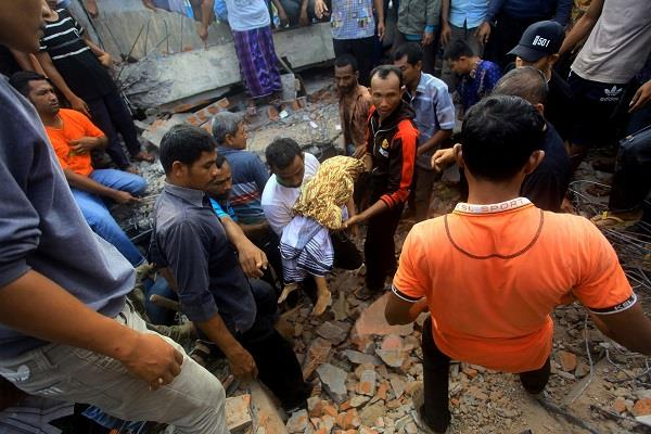 another hazard in indonesia after the earthquake