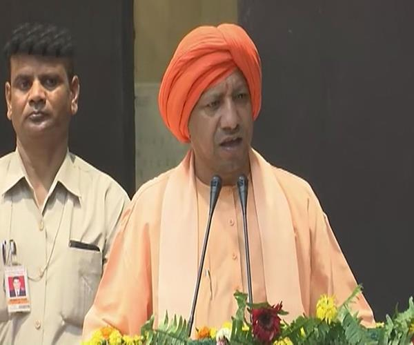 cm yogi said as long as kashmir was a hindu king hindus and sikhs were safe