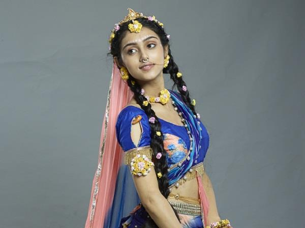 mallika singh injured on the set of radhakrishn