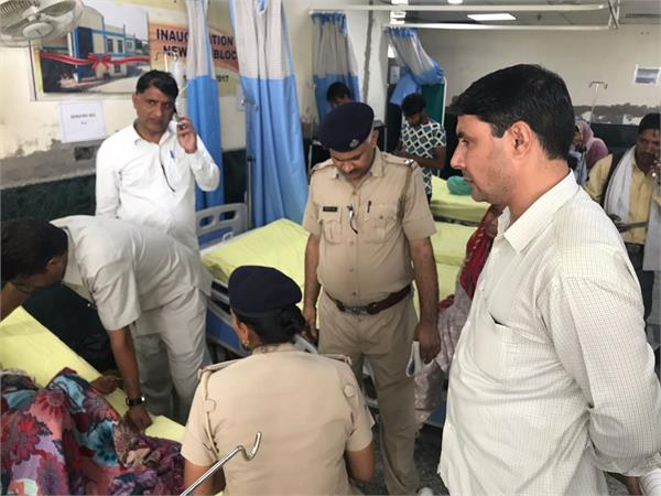 faridabad a 6 year old girl was raped aropi absconded