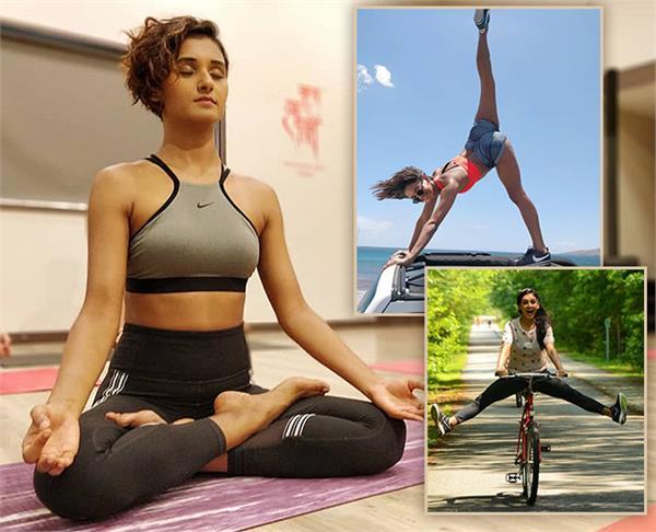 100 पुशअप्स और 30 पिलाटे मूव्ज है शक्ति मोहन का Fitness Secret