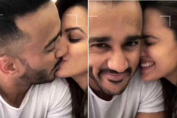 anita hassanandani shares a romantic video with husband rohit reddy