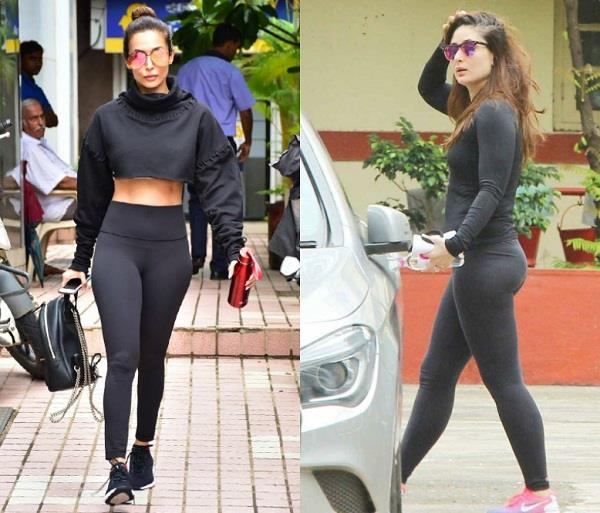 bollywood actress gym look
