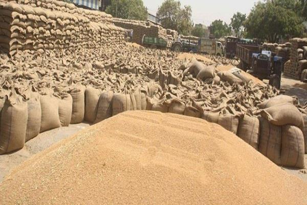 three days after start paddy procurement agencies did not get alot sheller