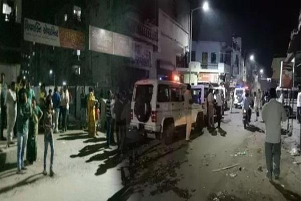 violence in gujarat after child abuse