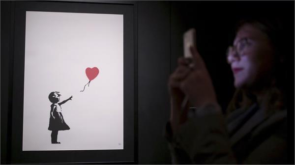 banksy auction stunt leaves art world in shreds