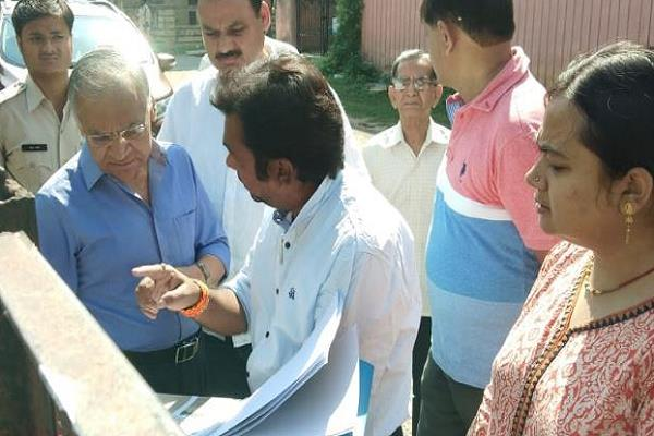 the steps taken by municipal corporation to improve