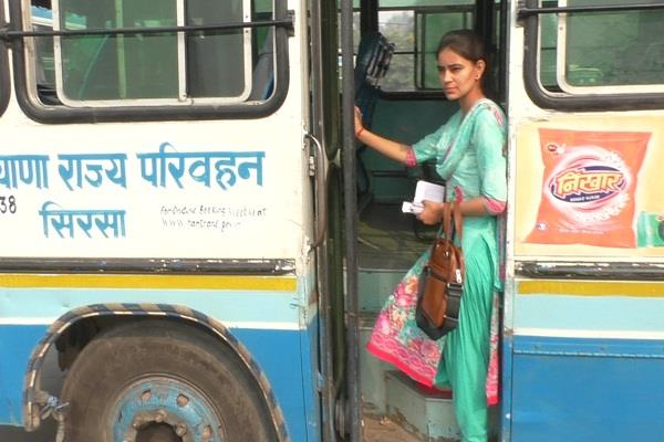 conductor in haryana roadways shaifali is examples of women empowerment