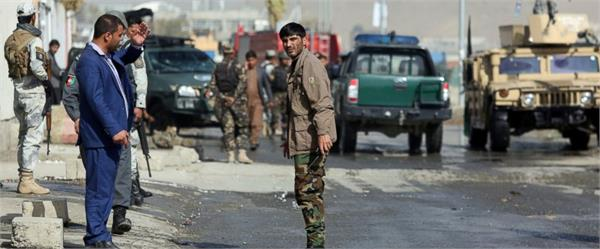 isis claims suicide bombing near kabul election office 1 dead