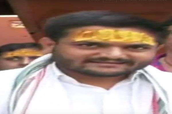 in the politics of mp from the hardoi mahakal temple
