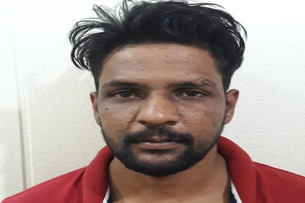 faridkot police get arrested gangster dimple of b category