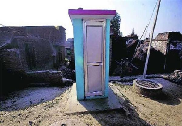 scandal created in toilets built under swachh bharat abhiyan