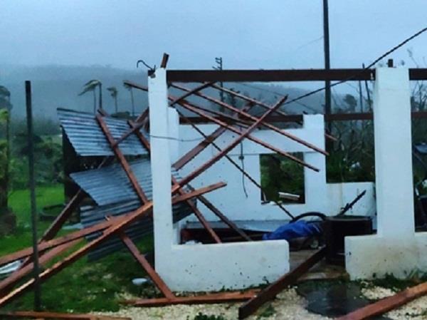 typhoon yutu batters the north mariana islands