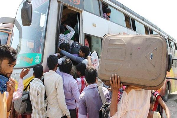 up bihar migrate cm says no major incident happened in 48 hours