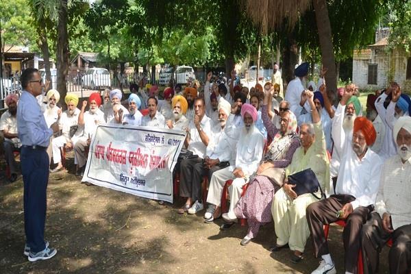pensioners on strike seeks 22 months arrears