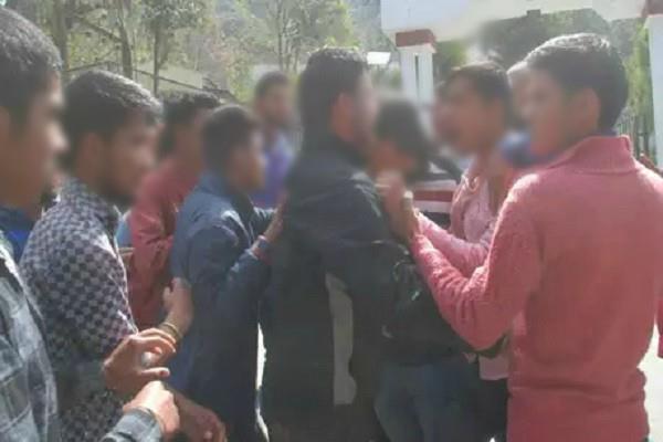 meerut vigilance in senior junior students ragging