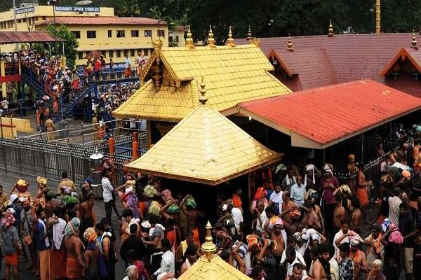 save bjp s sabarimala visit against kerala government