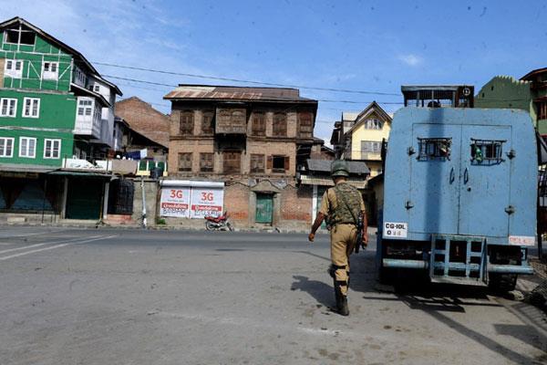 life disrupt in separatist strike in kashmir
