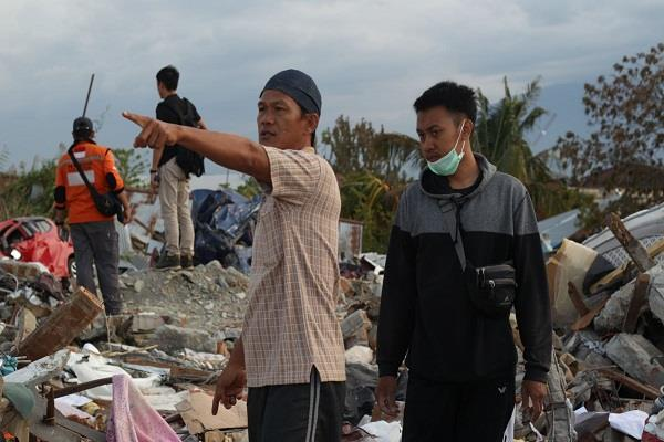 indonesia s earthquake and tsunami affected area missing 5 thousand people