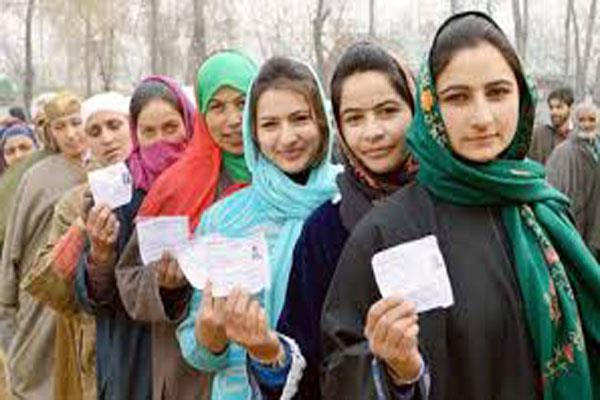 8 percent voting in kashmir